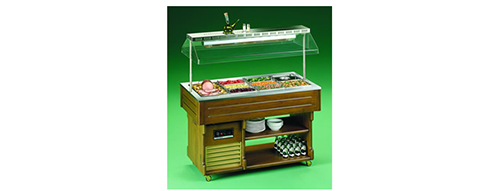 TECFRIGO ISOLA ELITE BAIN MARIE BUFFET DISPLAY