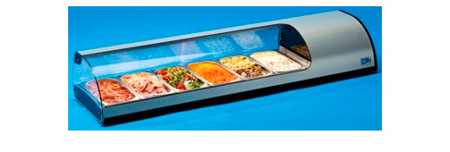 TECFRIGO TAPAS RANGE COUNTER DISPLAY CHILLER