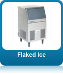 Flaked ice