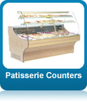 Patisserie counters